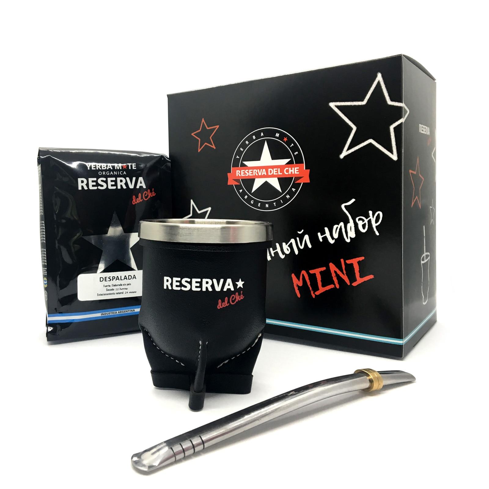 Gift Set Reserva del Che mini torpedo, tea mate, art. TOR_MINI
