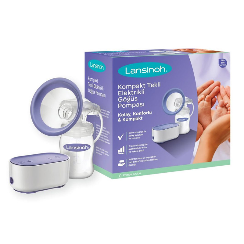 Lansinoh Compact Single Electric Breast Pump