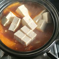 〔一人食〕暖洋洋香辣番茄鳕鱼锅的做法图解13