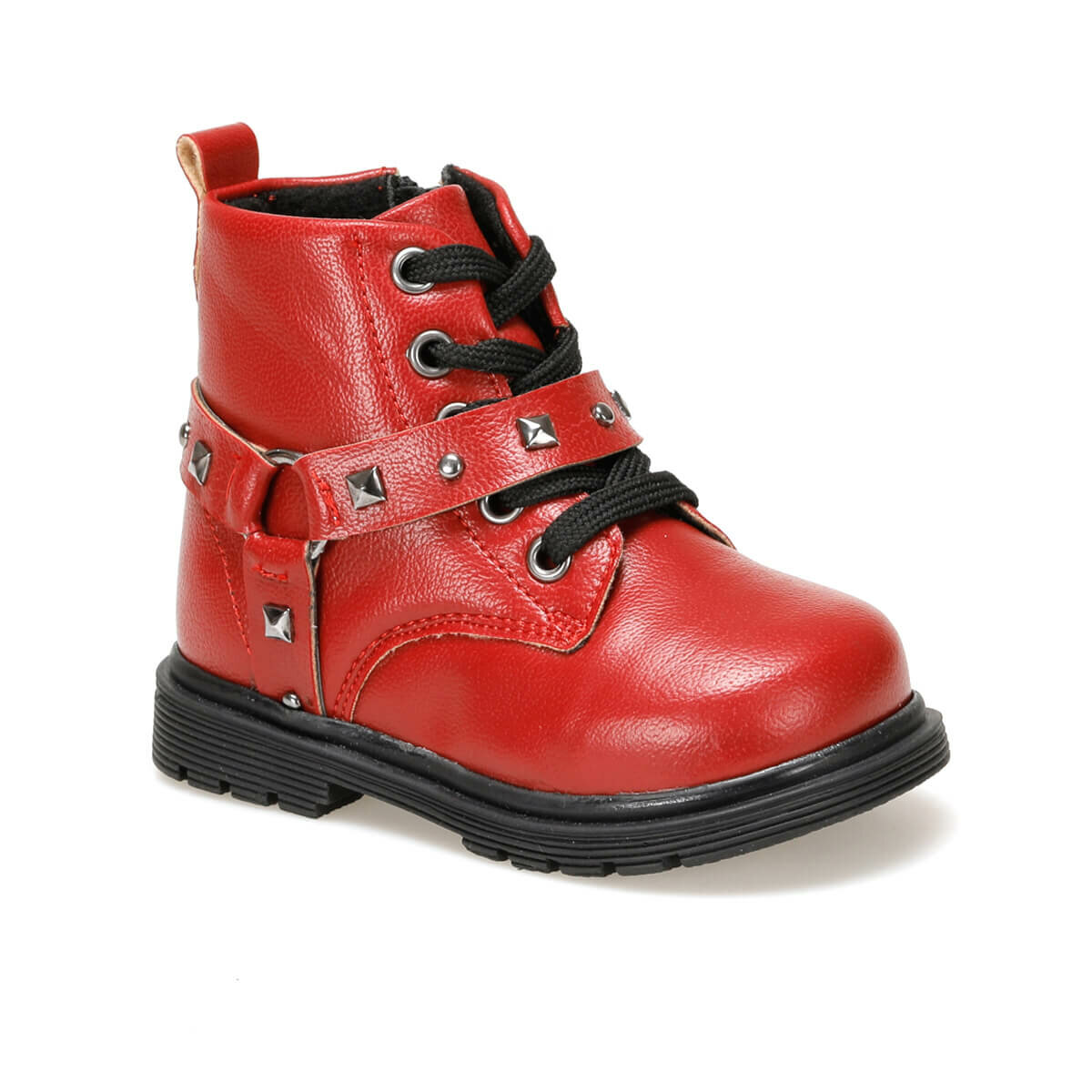 FLO BRENDA Red Female Child Boots Balloon-s