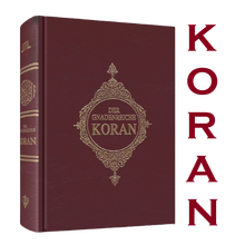 The Holy Quran and its German translation the holy book of the religion of Islam Quran book German Quran Germany