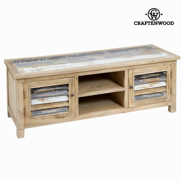 TV Table Mindi Wood (140 X 50 X 50 Cm) - Poetic Collection By Craftenwood