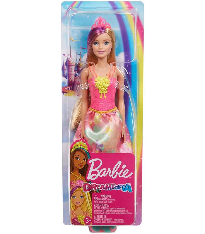 Barbie Dreamtopia Fairy With Pink Top And Lack Flowers Toy Store