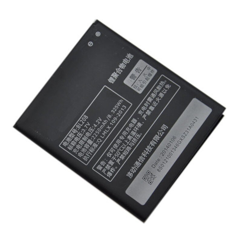 Battery <font><b>LENOVO</b></font> BL208 S920.High quality battery.Li-ion battery 2250mAh.<font><b>Lenovo</b></font> S920, <font><b>Lenovo</b></font> <font><b>A616</b></font>, <font><b>Lenovo</b></font> A5800d image