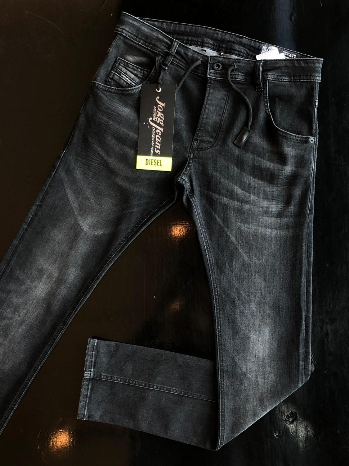 Jeans High Quality Black  Diesel Jeans Men New Session Jeans For Men With Slim Fit Luxury Pants