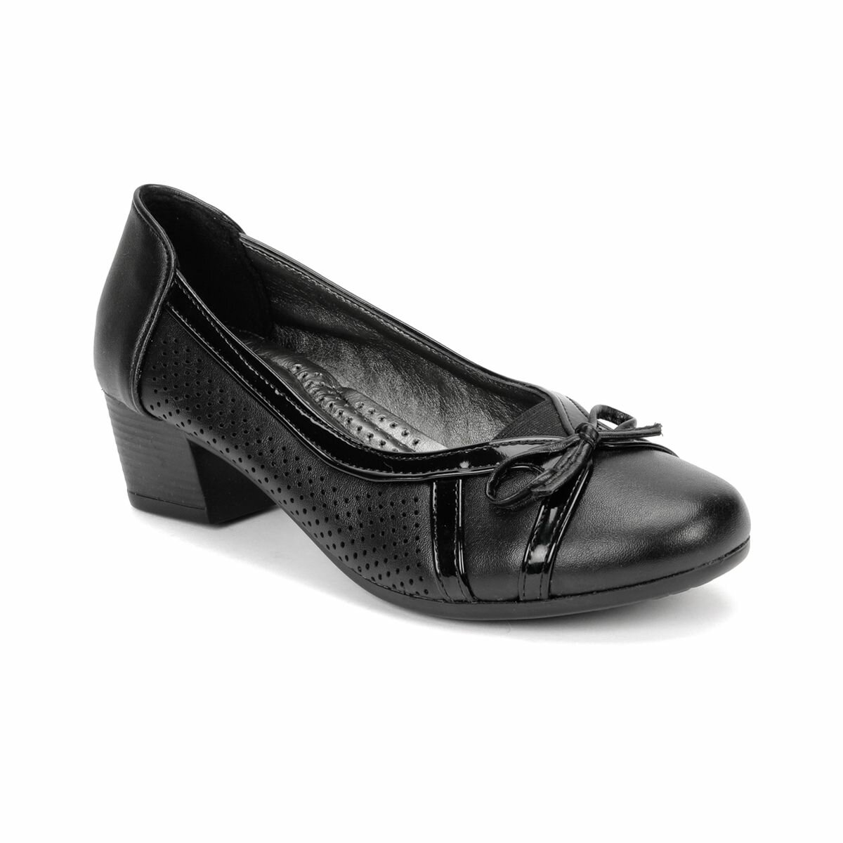 FLO 81. 157309.Z Black Women Ökçeli Shoes Polaris
