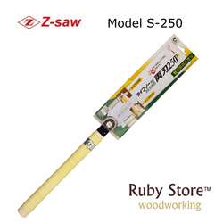 RYOBA DOUBLE EDGE S-250 Japanese Z-saw, Woodworking and Carpenters Saw, Made in Japan