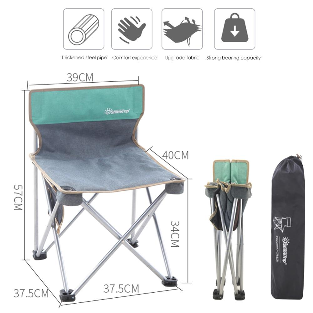 Портативное складное кресло, крепкое удобное сверхлегкое пляжное кресло для походов, рыбалки, кемпинга, отдыха на открытом воздухе, стулья, рыболовное кресло - Цвет: 6