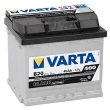 Аккумулятор Black Dynamic 12v 45ah 400a 207х175х190 Полярность 1 Клеммы 1 Крепление B13(B20) Varta арт. 545413040