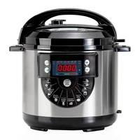 Programmierbare topf 1000 W mit Stimme  kapazität 6 LTr  15 Menüs kochen und zweite zubehör für Braten-in Schongarer aus Haushaltsgeräte bei