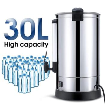 30L Instant Electric Water Boiler Electric Automatic Heating Water Machine One-Button Control Instant Electric Water Heater 3l electric water boiler instant heating electric kettle water dispenser adjustable temperature coffee tea maker office 2000w
