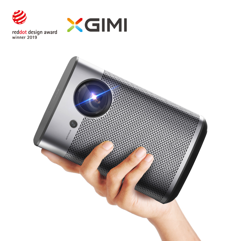 XGIMI Halo DLP Mini Projector Android 9.0 Wifi Portable Support 4K 3D Home Cinema With Battery Google OS Full HD image