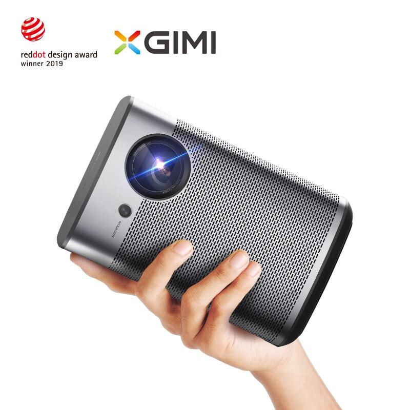 XGIMI Halo DLP Mini projecteur Android 9.0 Wifi Support Portable 4K 3D Home Cinema avec batterie Google OS Full HD