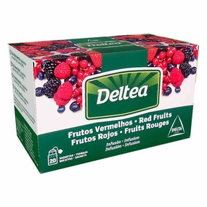 Red fruit infusion 20 individual bags Deltea
