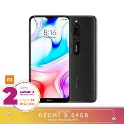 [Official Spanish version] Xiaomi Redmi 8 Smartphone 4 hard GB RAM 64 hard GB ROM Snapdragon 439 10W de Fast Charge 5000 mah