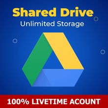 Shared Drive G-drive Unlimited storage for lifetime, gooogle Shared drive