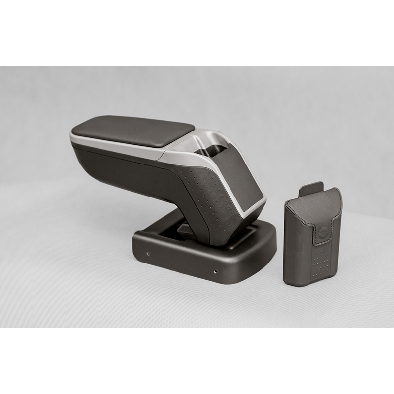 Armrest ARMSTER 2 SILVER for SEAT TOLEDO 2013- armrest armster 2 silver for honda jazz 2016
