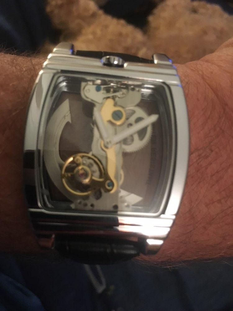 -- Relógios Transparente Automático
