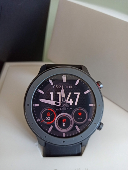 In Stock Amazfit GTR 47mm Lite Smart Watch Swimproof Smartwatch 24 Days Battery for Android ios phone|Smart Watches|   - AliExpress