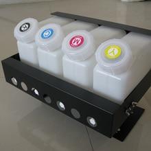 4 цвета СНПЧ Насыпная система чернил для Mimaki/Roland/Mutoh и других 4 цветных принтеров