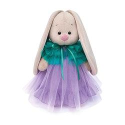 Soft toy Budi Basa Bunny jurk met perelini, 32 cm