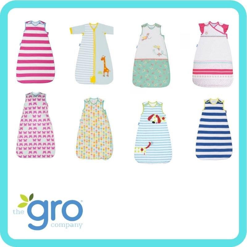 The Gro Company Sleeping Bag Pure Cotton 1.0 Tog