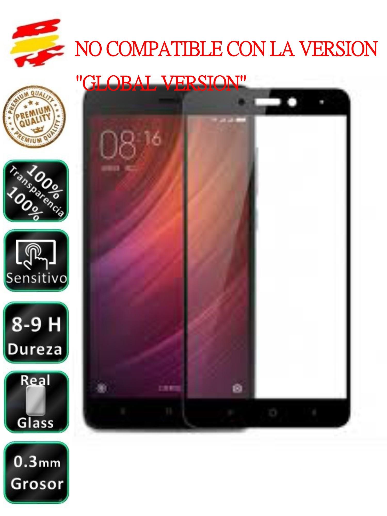 Protector Xiaomi Redmi Note 4 Black Full 3D Tempered Glass Screen