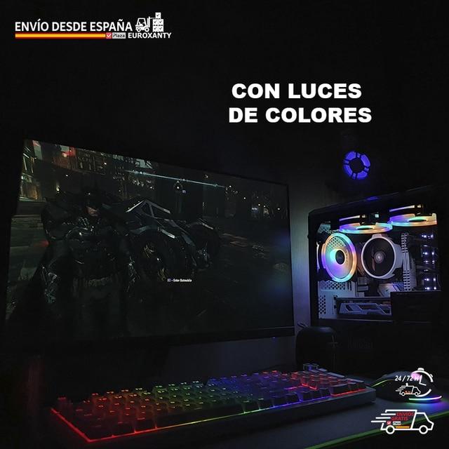 EUROXANTY®   Pack Gaming   Teclado Gaming Español    Teclado y Raton Gamer   5