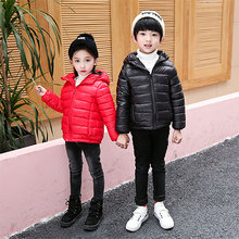 Детская одежда на утином пуху хлопковая куртка для мальчиков