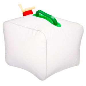 Dobrável vasilha para viagem piquenique aventura para turistas e para crianças confortável e durável 10l