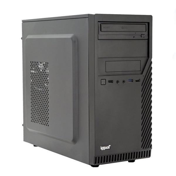 Desktop PC Iggual PSIPCH440 I5-9400 16 GB RAM 480 GS SSD W10 Black