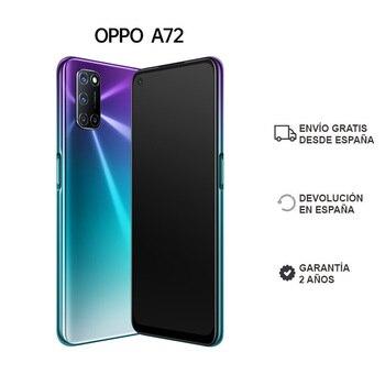 Перейти на Алиэкспресс и купить OPPO A72 4GB/128GB смартфон экран 6,5 дюймколонки estero dual battery 5000 mAh ColorOS 7.1 2 года гарантии