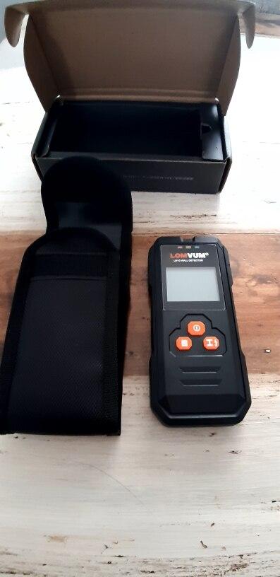 Metal Detector Stud Finder Wall Scanner photo review