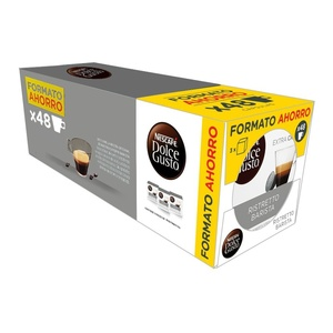 Ristretto Barista Pack saving 48 Dolce Gusto coffee capsules