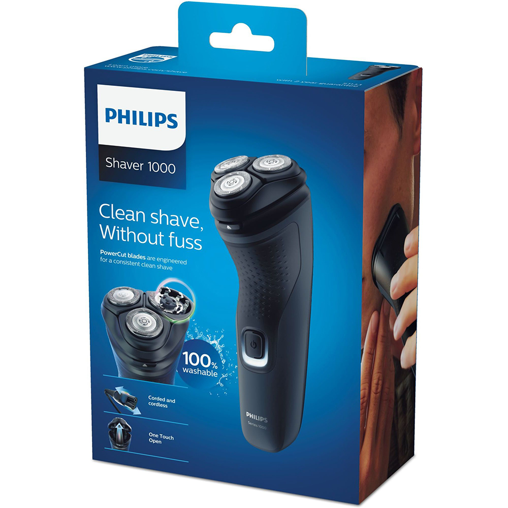 Philips Machine Electric Shaver Male Short Beard Maquina De Barbear Use With And Without Cable ,40min Autonomy