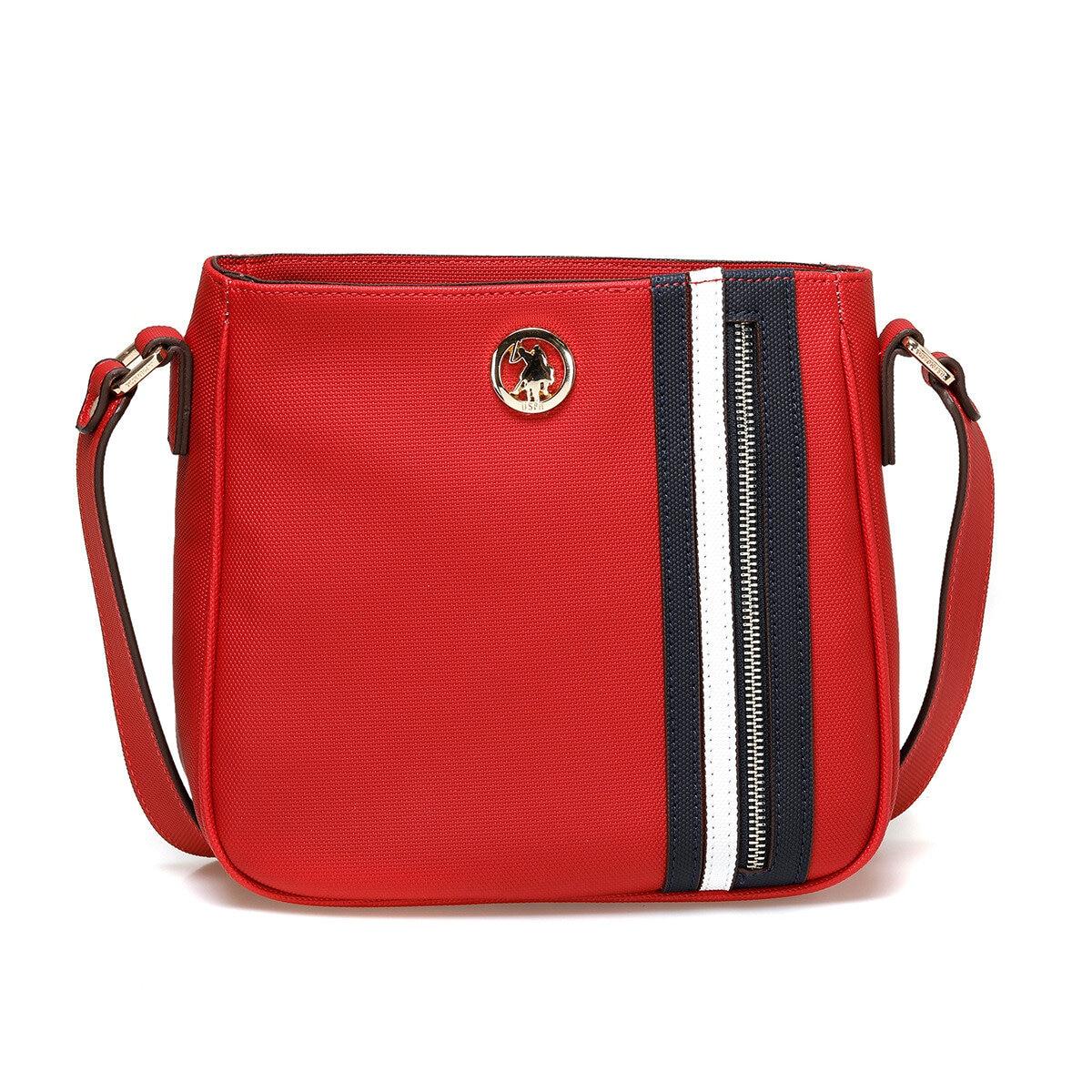 FLO US20282 Red Women Messenger Bag U.S. POLO ASSN.