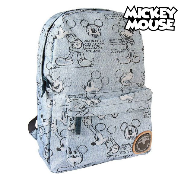 School Bag Mickey Mouse 72832 Blue