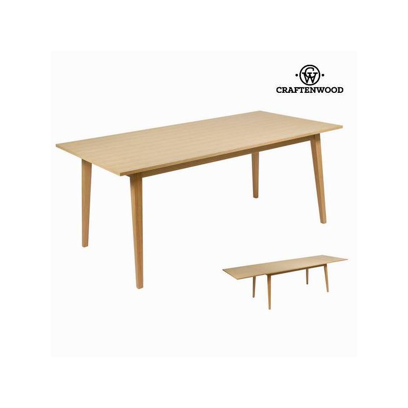 Extendable Table Wood-Collection Modern By Craftenwood