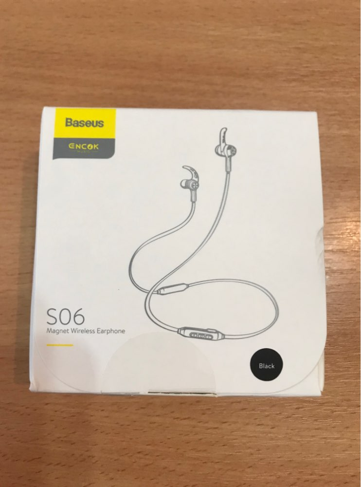 Baseus S06 Bluetooth Earphone Wireless Magnetic Neckband Bluetooth Headset Sport Earphone Stereo Earpieces For Samsung Xiaomi|Phone Earphones & Headphones| |  - AliExpress