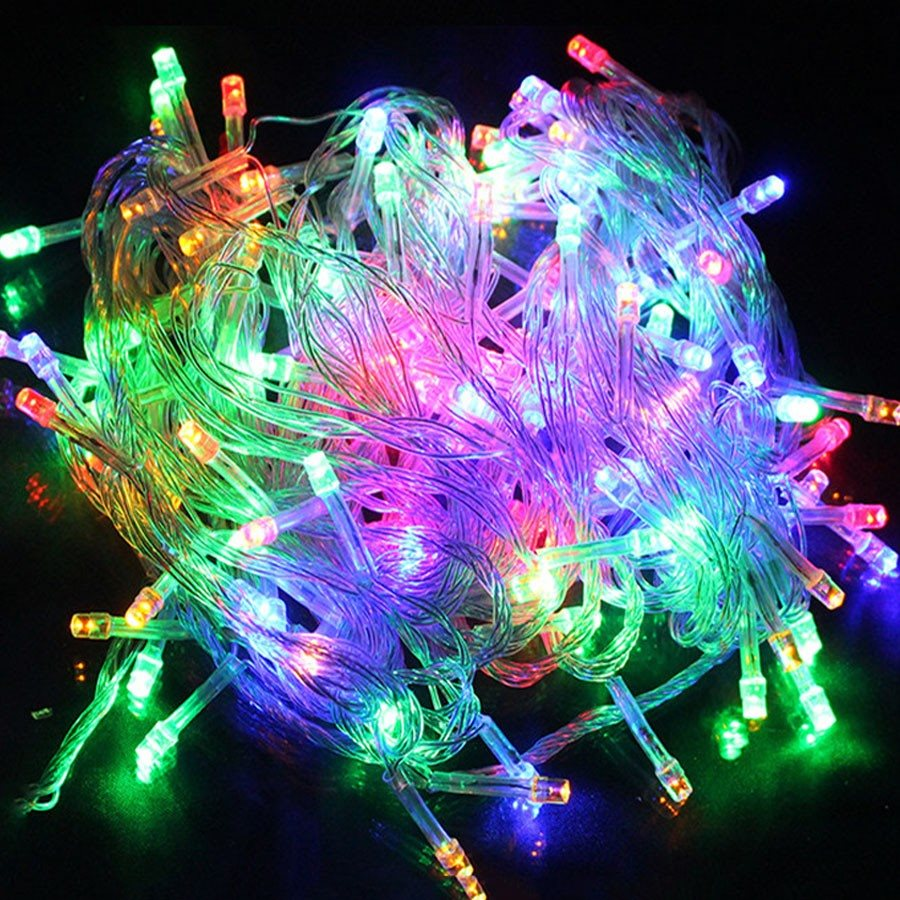 100 8-Function LED Mixed Color LED Lamp Decor