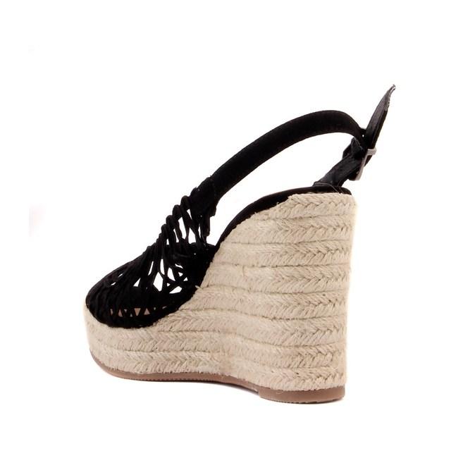 Guja-Women's High Heeled Wedge Sandals