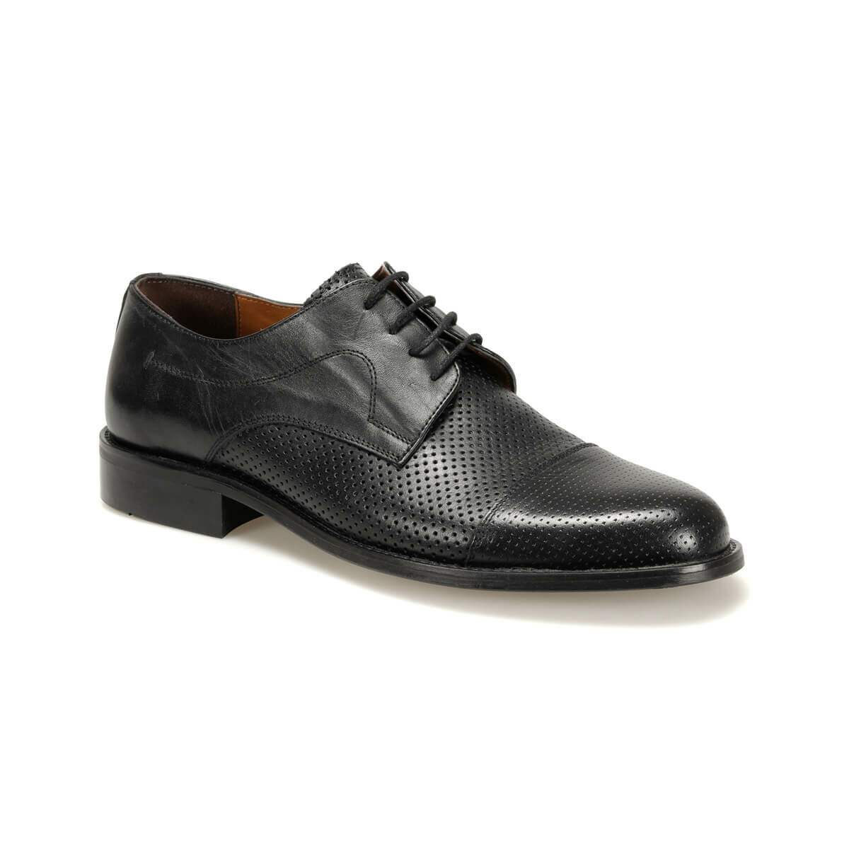 FLO 3929 Black Men 'S Classic Shoes Garamond