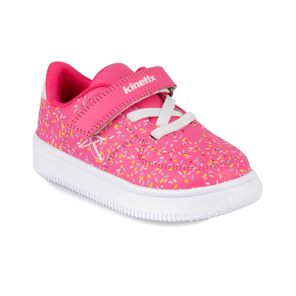 FLO KALEN PRINT 9PR Pink Female Child Sneaker Shoes KINETIX