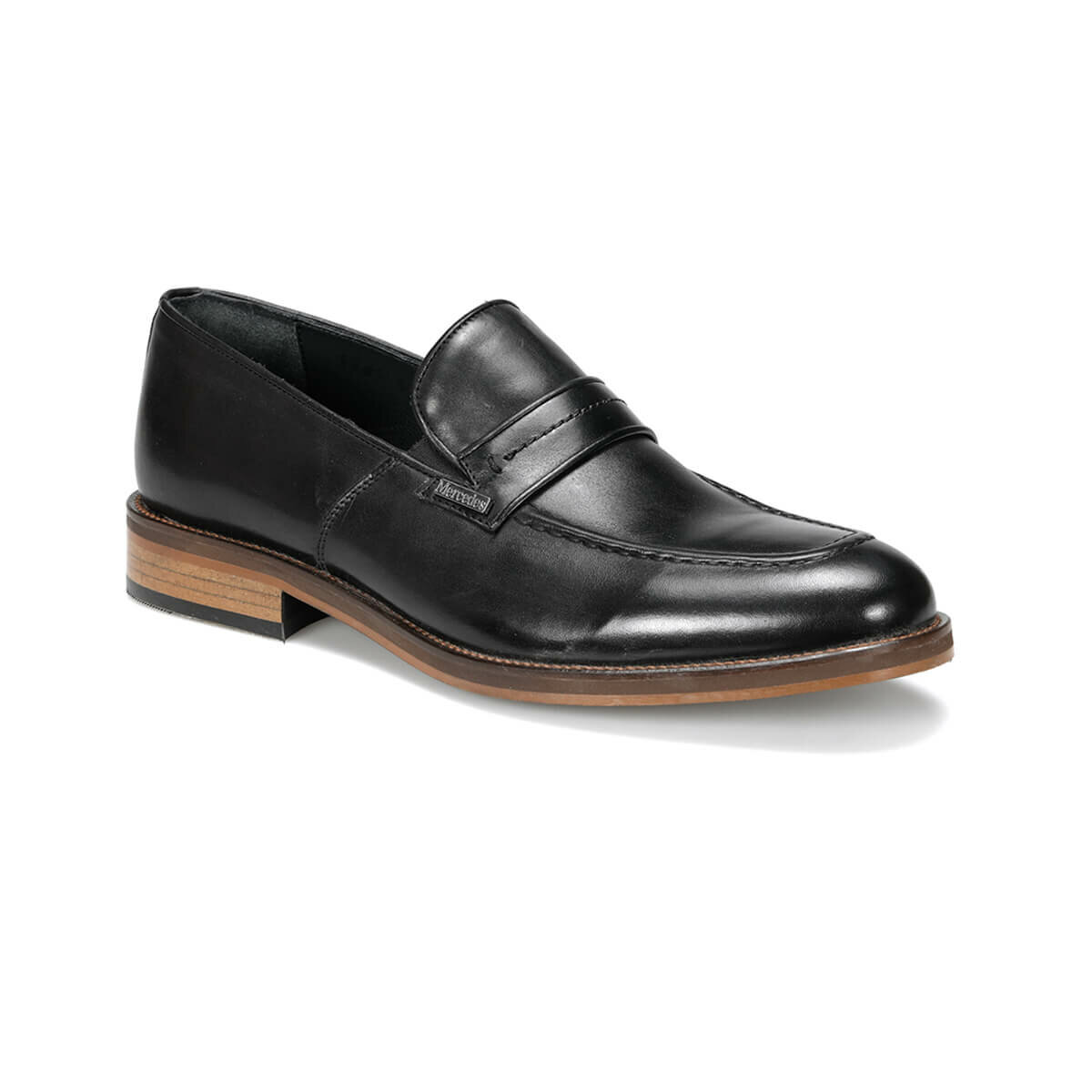 FLO MORRIS 9PR Black Men 'S Classic Shoes MERCEDES