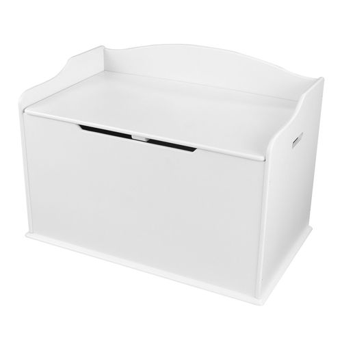 Toy box Austin Toy Box (Austin), col. White ящик для хранения kidkraft austin toy box vanilla ваниль 14958 ke