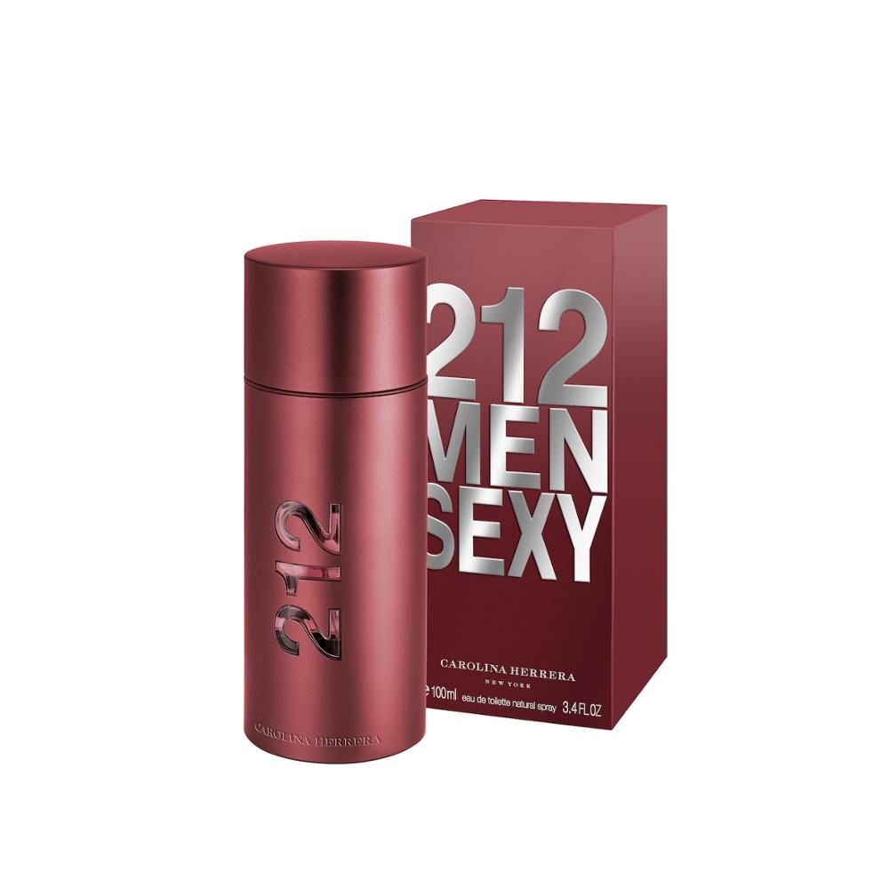 Carolina- Herrera 212 Sexy Men 100ml Male Perfume Men Carolina Perfume Herrera Perfume