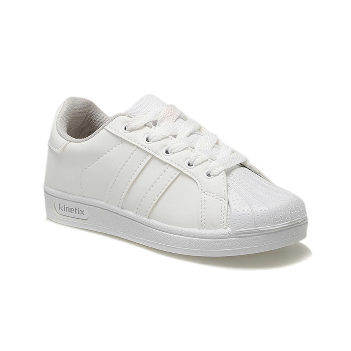 FLO RENDRO White Male Child Sneaker Shoes KINETIX