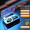 N26 наушники-вкладыши TWS с Беспроводной Blutooth 5,1 наушники сенсорный Управление гарнитура 3D стерео звук музыки в наушники-вкладыши Наушники для...