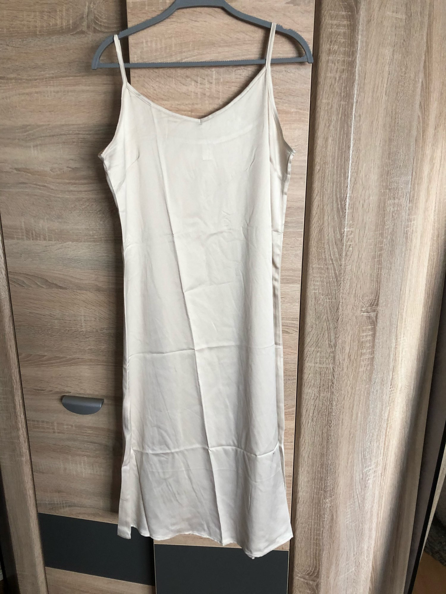 Fashion High Quality Women's Dress Summer Spaghetti Satin Long Woman Dress Very Soft Smooth Plus Size S 4XL M30262|Dresses|   - AliExpress