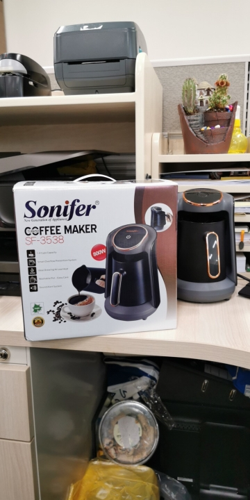 800W Automatic Turkish Coffee Maker Machine Cordless Electric Coffee Pot Food Grade Moka Coffee Kettle for Gift 220V Sonifer|Coffee Makers|   - AliExpress